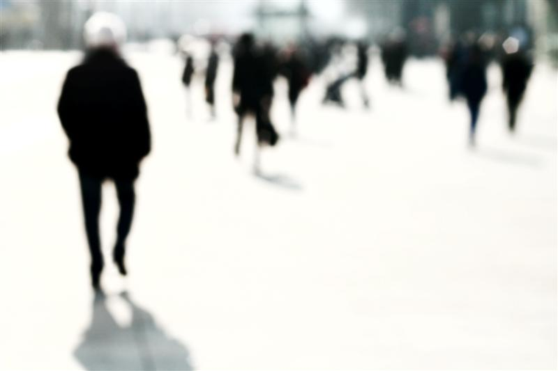 Blurred People | Ulf Buschmann | Photography