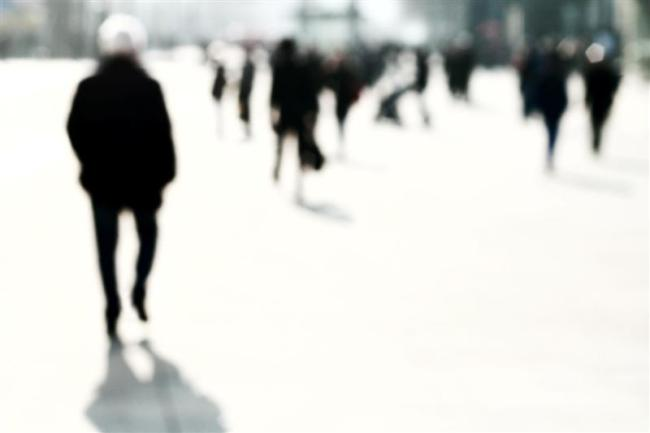 Blurred People