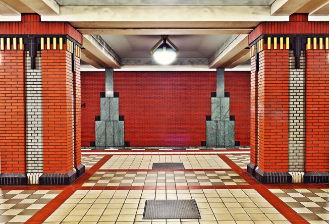 Underground Station Rathaus Reinickendorf in Berlin