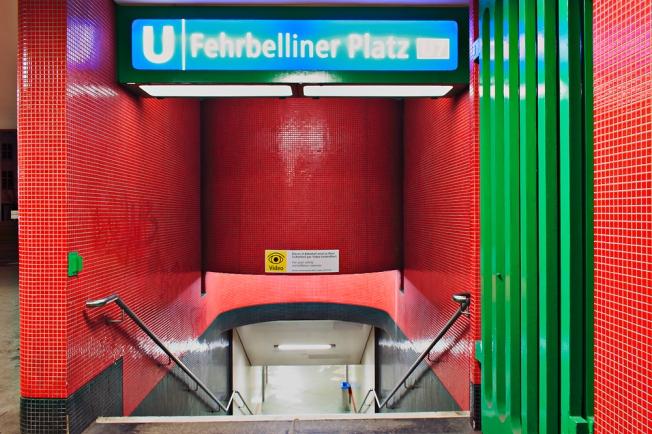 U-Bahnhof Fehrbelliner Platz in Berlin